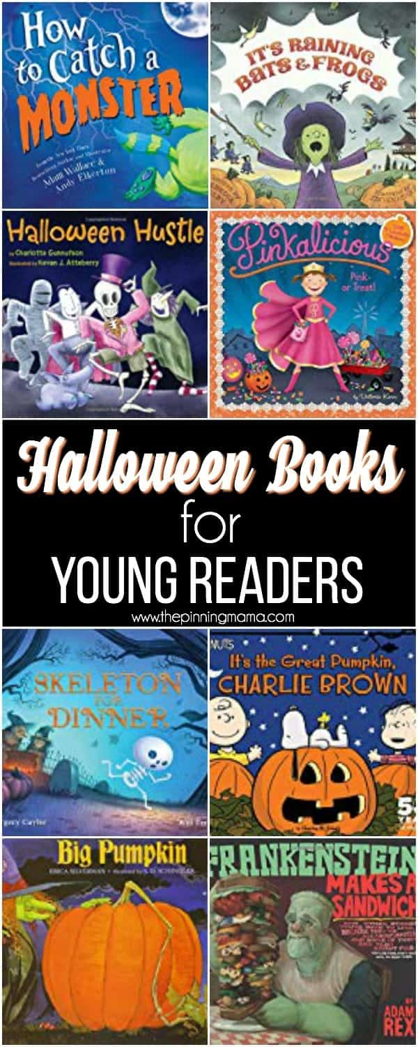 The Big List of Halloween Books for Young Readers