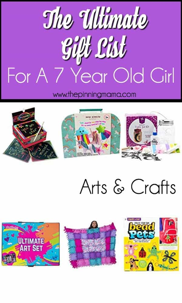 The ultimate gift list for a 7 year old girl the pinning for Arts and crafts gifts for 7 year olds
