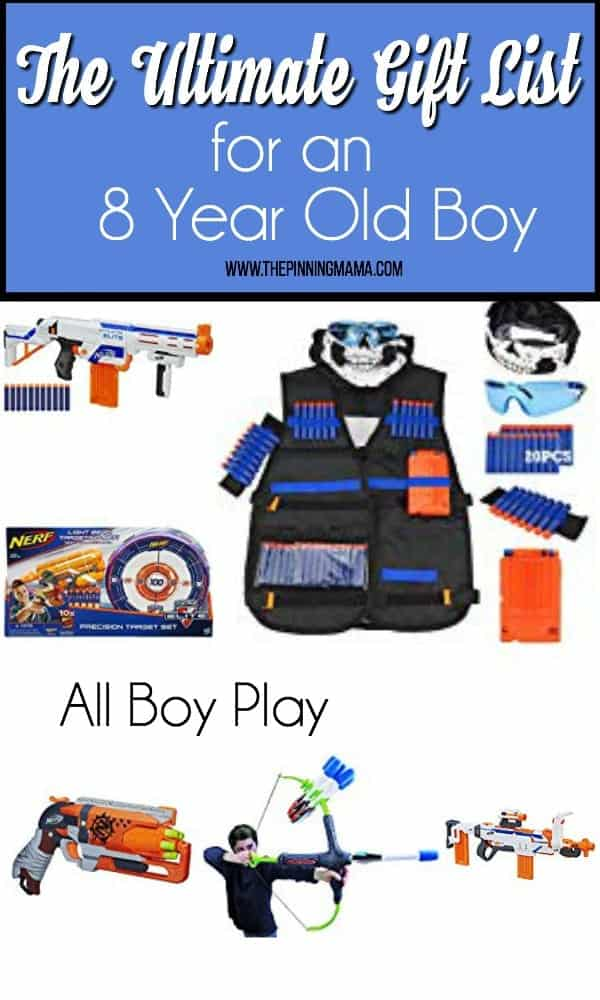 The Ultimate Gift List For An 8 Year Old Boy ALL Play