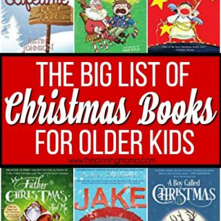 The Big List of Christmas Books for Older Kids