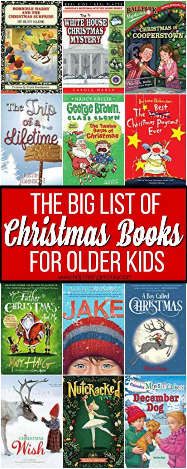 The Big List of Christmas Books for Older Kids • The Pinning Mama