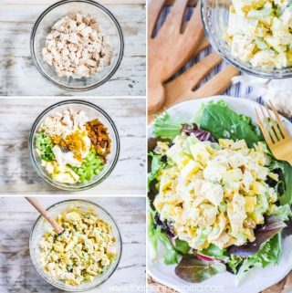 Whole30 Curry Chicken Salad