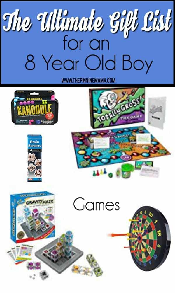 The Ultimate Gift List Of Games For An 8 Year Old Boy