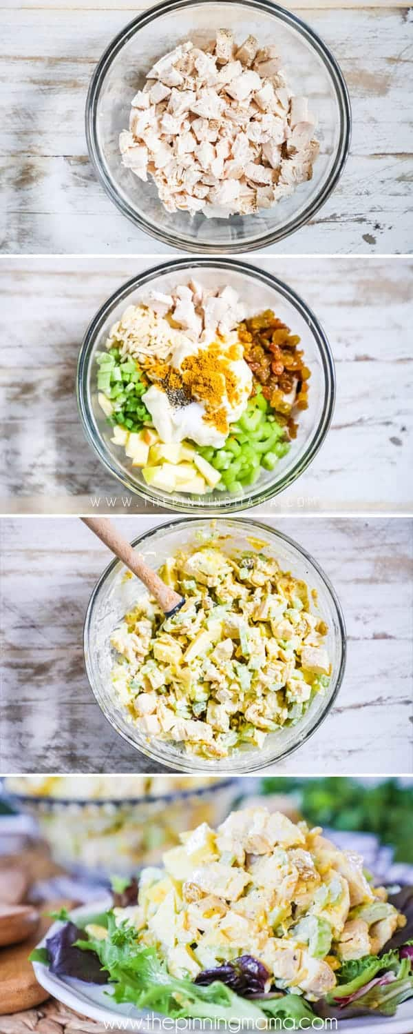 Step by step for making Whole30 Chicken Curry