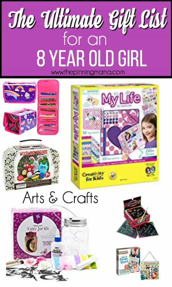 The ultimate gift guide for an 8 year old girl, arts and crafts