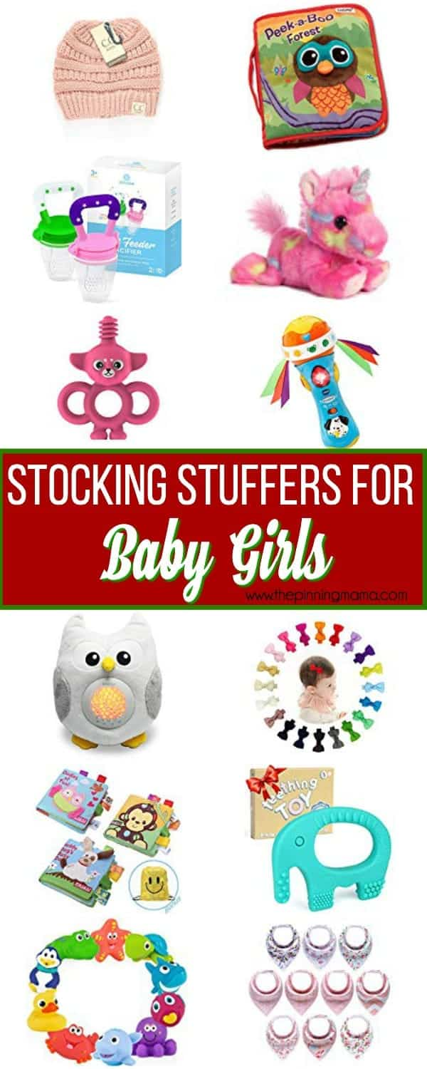 The Ultimate List of Stocking Stuffers for baby girls