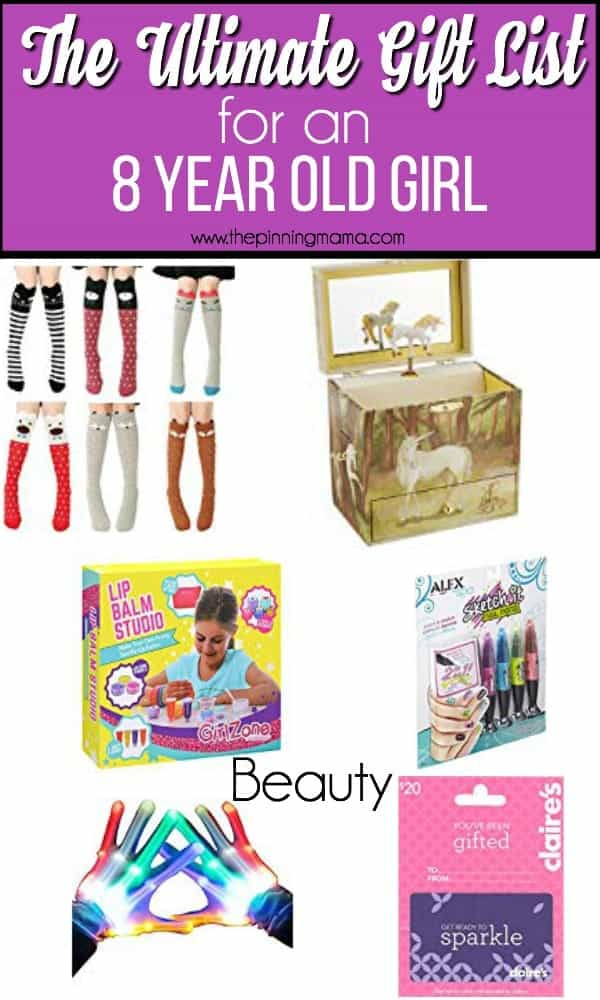 The ultimate gift guide for an 8 year old girl, beauty ideas.