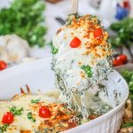 Recipe for Low Carb Chicken with Spinach and Feta