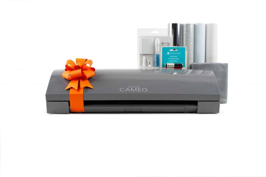 silhouette cameo 3 black friday 2018 bundle including Silhouette CAMEO in slate gray, digital downloads for software and designs, vinyl, and more, use coupon code PINNING at checkout!