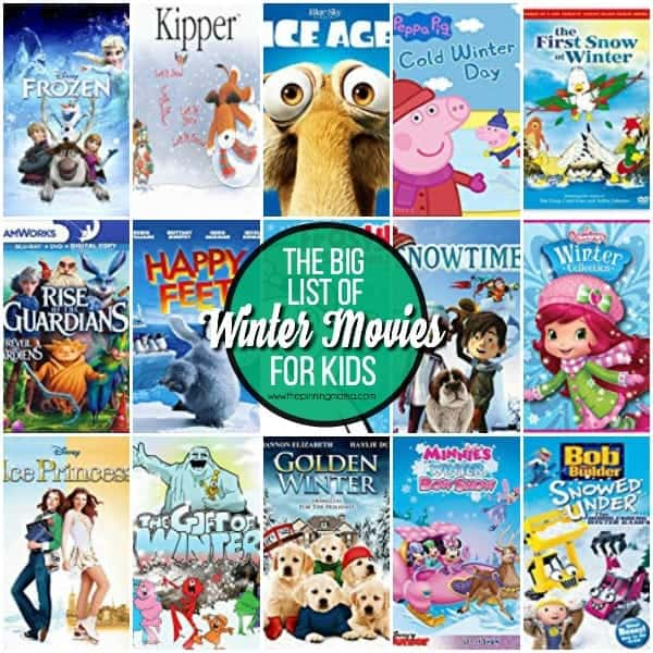 10+ Winter movies for Kids.