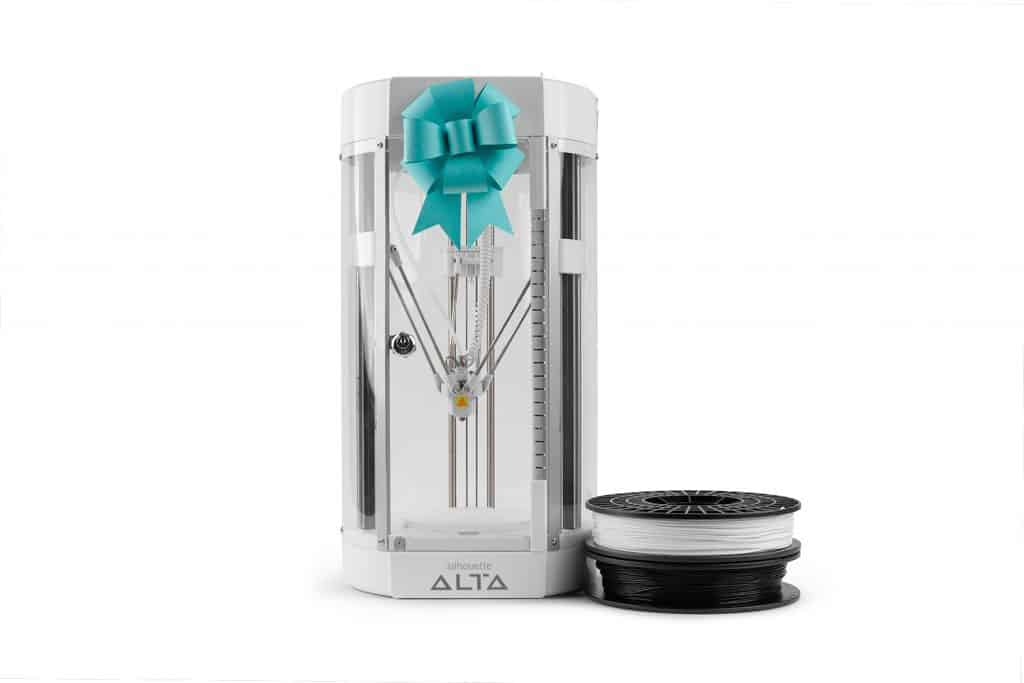 silhouette Alta 3d printer black friday 2018 bundle including Silhouette Alta, digital downloads, materials and more, use coupon code PINNING at checkout!