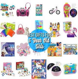 The Best Gift Ideas for 5 Year Old Girls.
