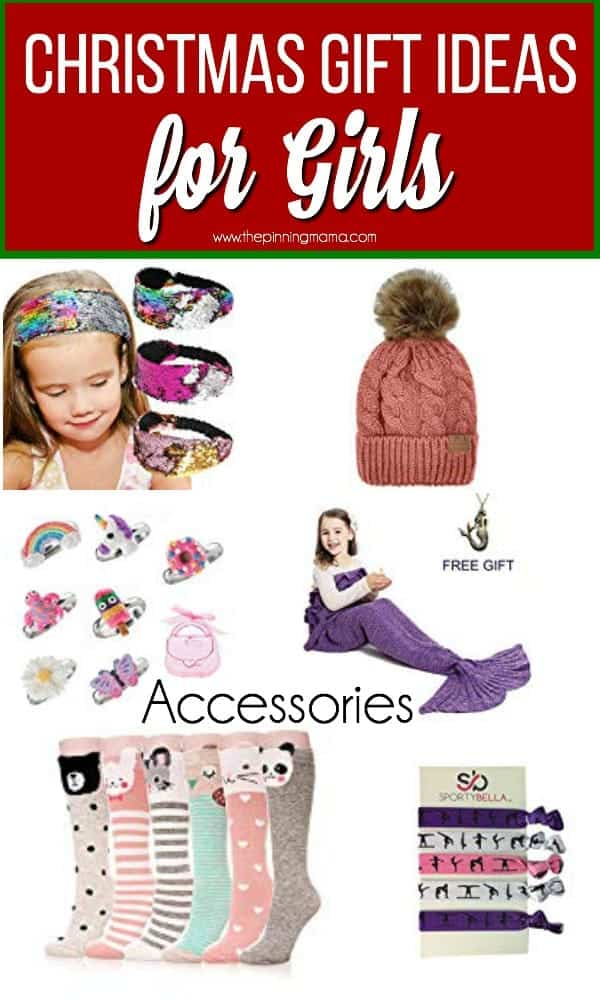 Christmas Gift Ideas for Girls, Accessory ideas for girls