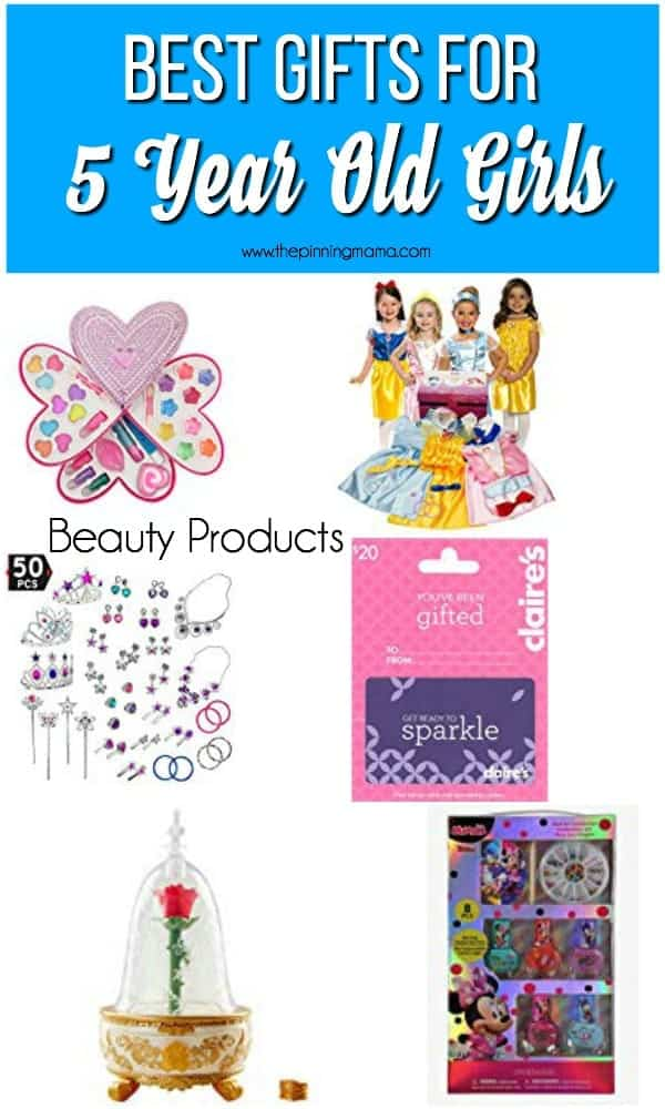 Best Beauty Product Gift Ideas for 5 Year Old Girls.