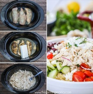 Crockpot Greek Chicken