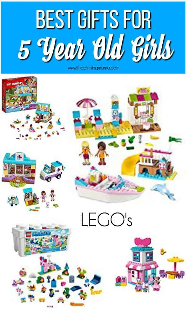 The Best Lego Gift Ideas for a 5 Year Old Girl.