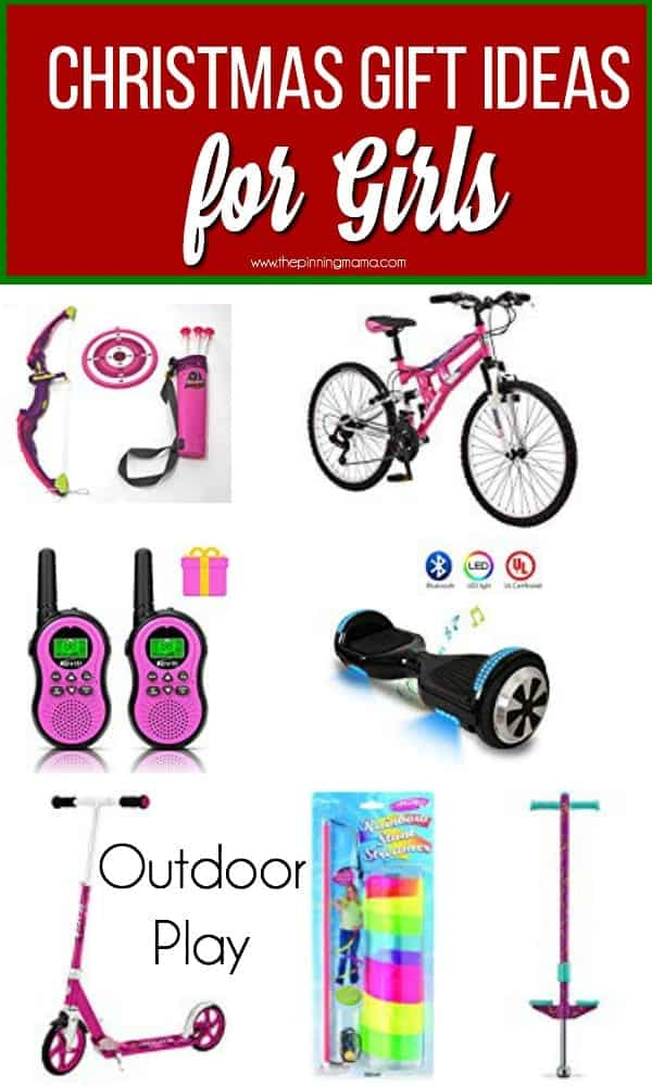 The Big List of Christmas Gift Ideas for Girls, Outdoor Play