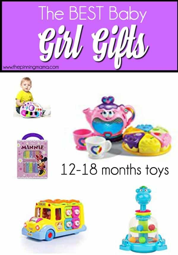 12-18 month toys gift ideas for baby girls.