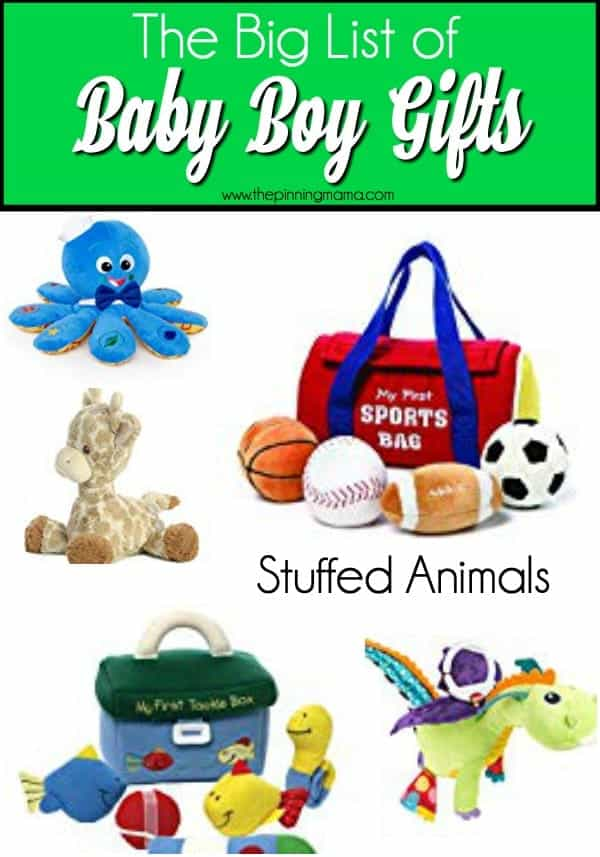 The Big List of Gift Ideas, Stuffed Animals.