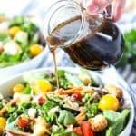 Recipe for homemade Balsamic Vinaigrette.