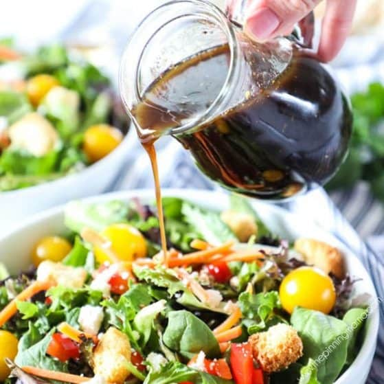 Recipe for homemade Balsamic Vinaigrette.