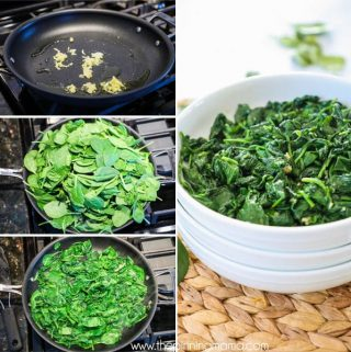 How to make Sautéed Spinach with Garlic.