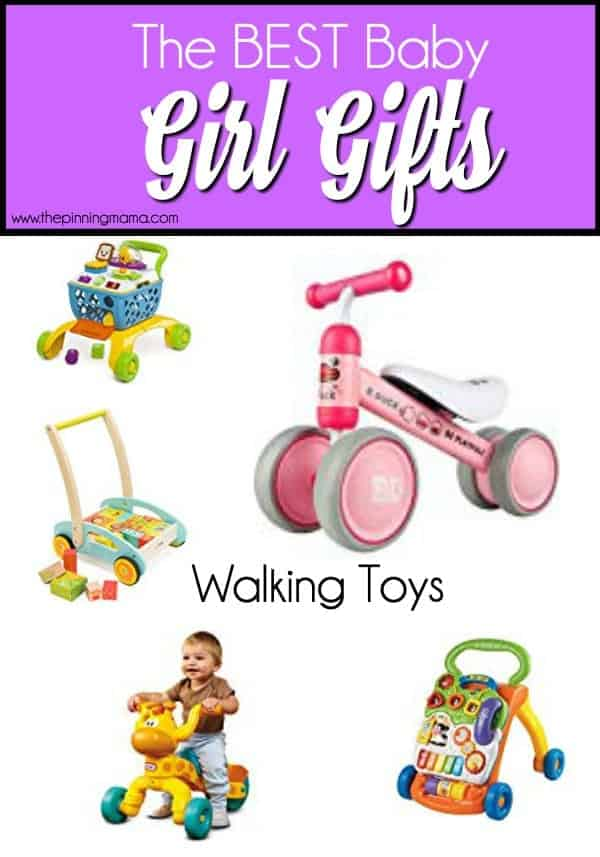 The Big List of Walking Toys for Baby Girls.