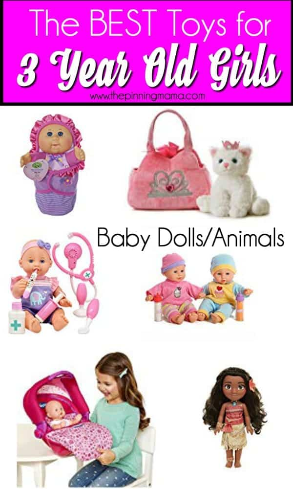 The BEST Baby Dolls for 3 year old Girls.