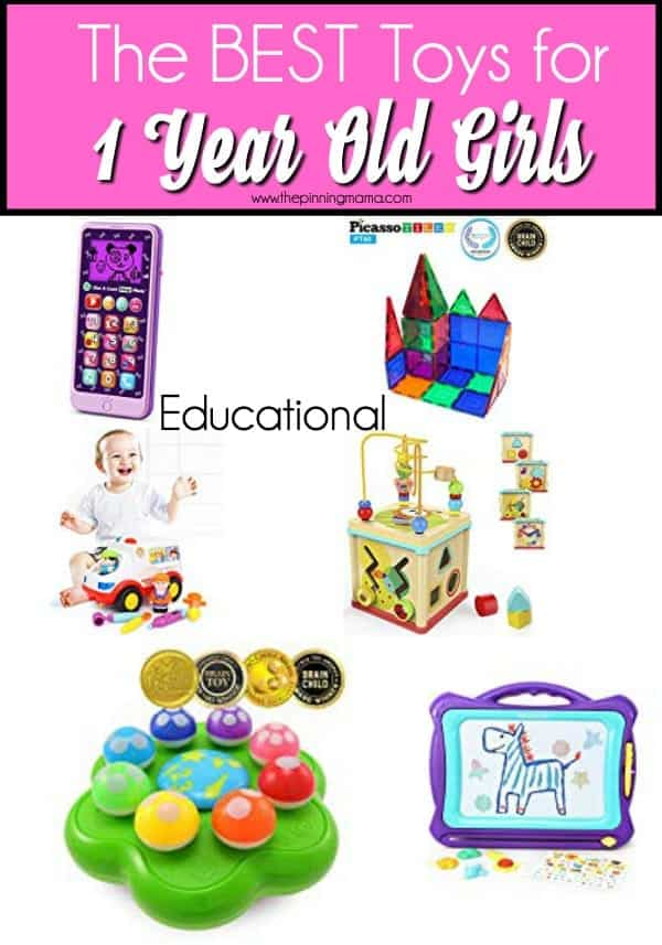Educational Toy Ideas for 1 Year old Girls