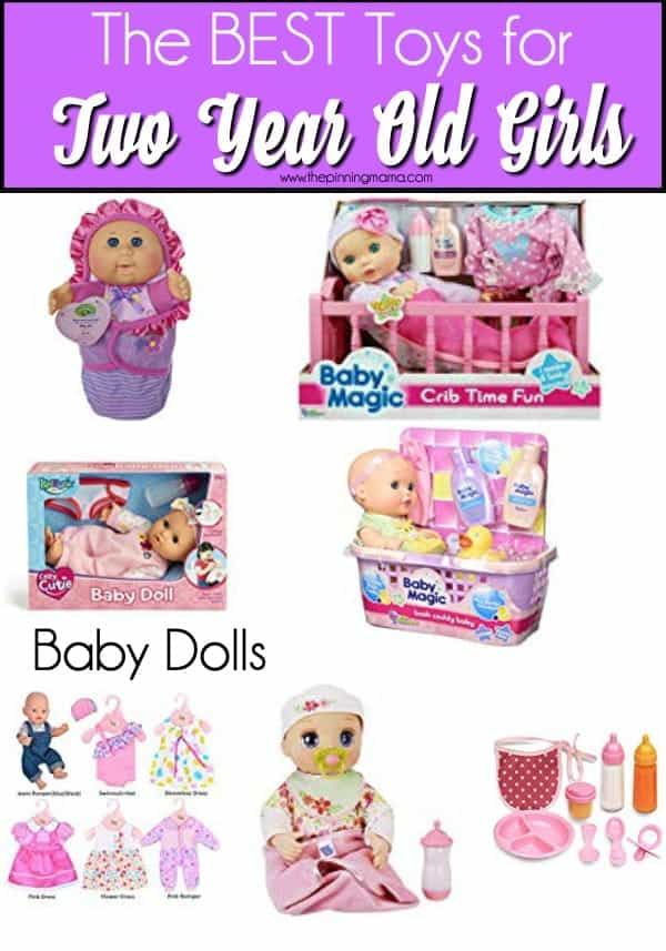 Baby doll ideas for 2 year old girls.