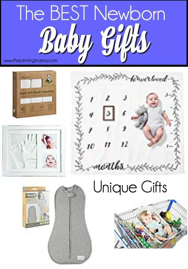 Unique newborn gift ideas.