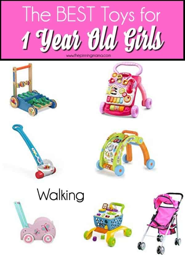Walking Toys for 1 year old girls, perfect for Christmas and birthdays.