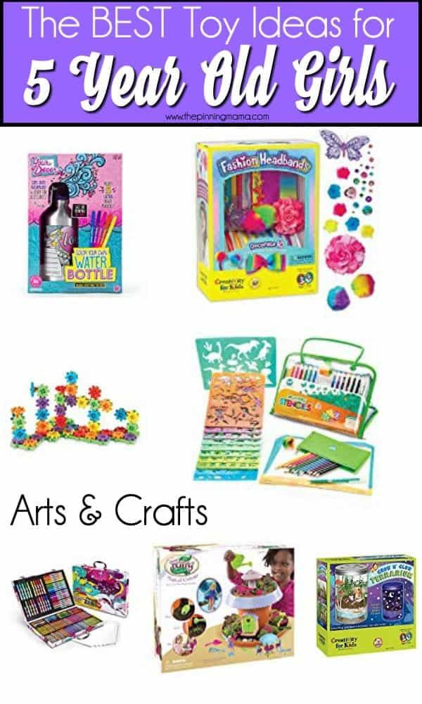 The Big list arts & crafts for 5 year old girls.