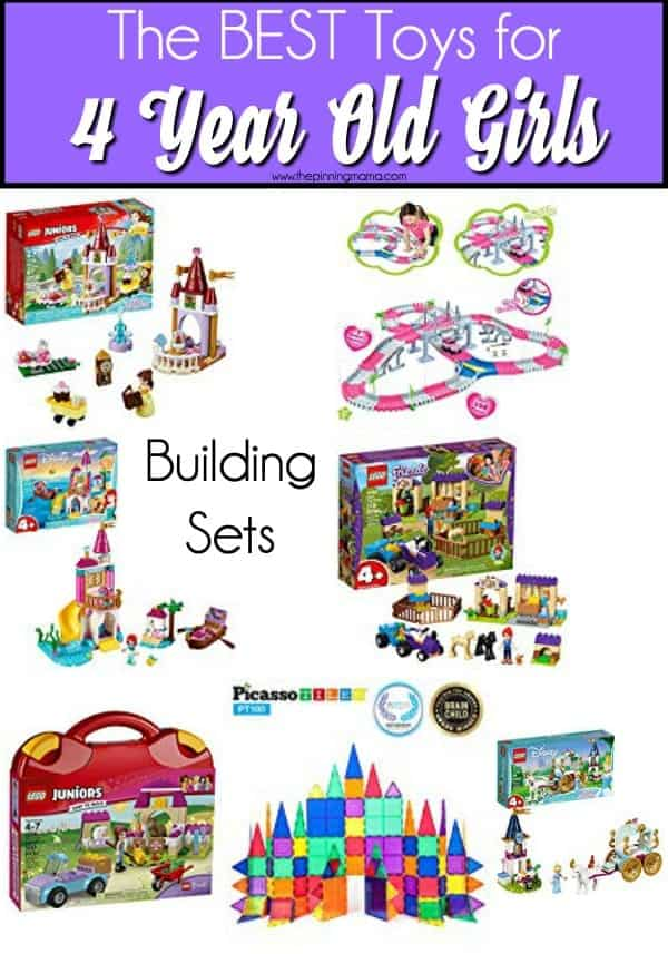 The BEST building sets for 4 year old girls.