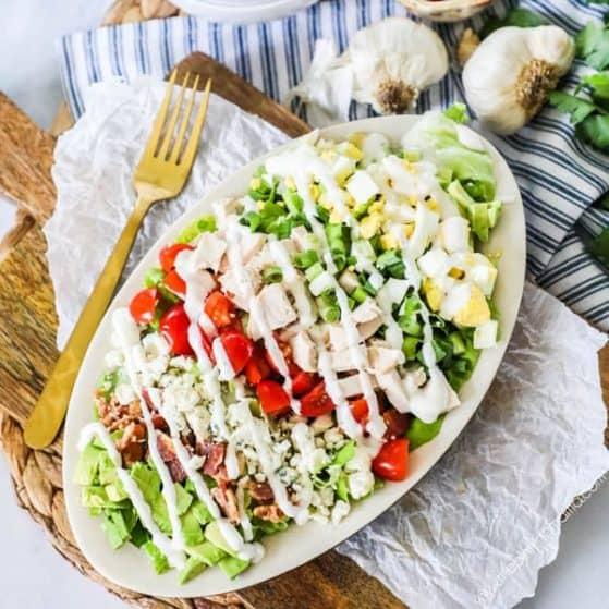 Recipe for Cobb Salad.