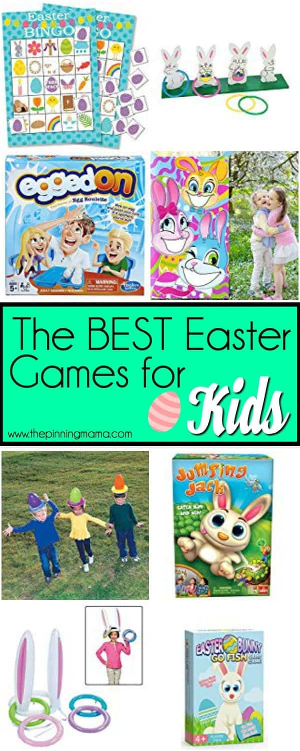 The Big list of Easter Games for Kids.