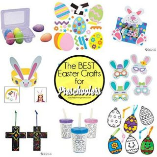 The BEST list of Easter Crafts for Preschool Aged Kids