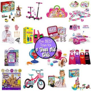 Toys for 4 Year Old Girls