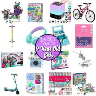 The BEST Toy ideas for 9 year old girls.