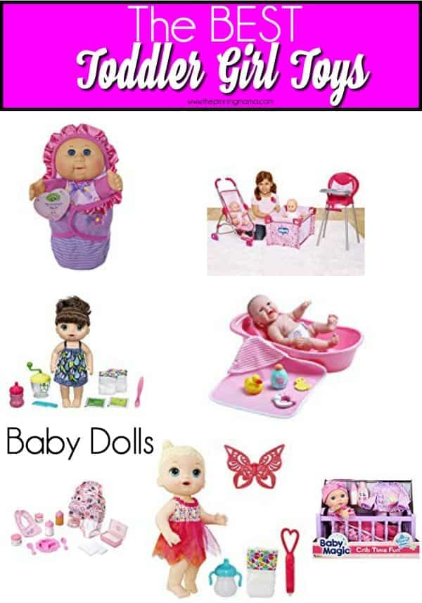 The BEST list of baby dolls for toddler girls.