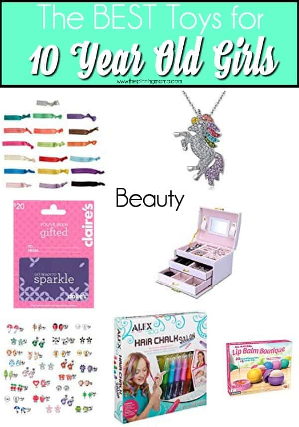 The BEST Beauty products for 10 year old girls.