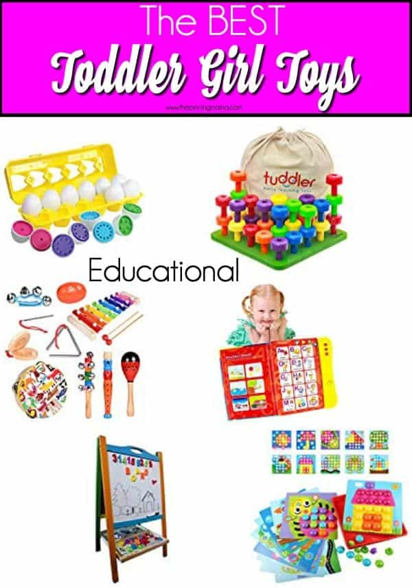 The BEST Educational Toys for Toddler Girls.