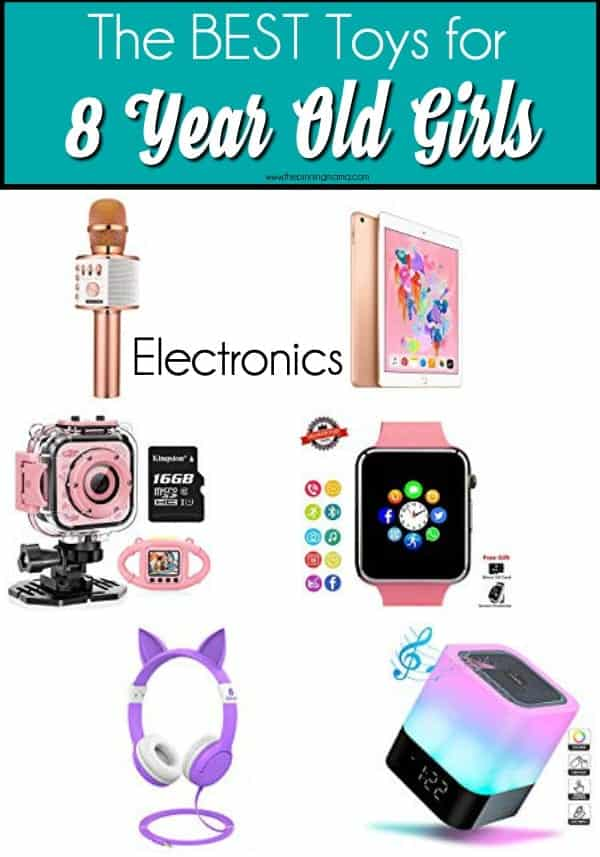 The BEST Electronic Toys ideas for 8 year old girls.