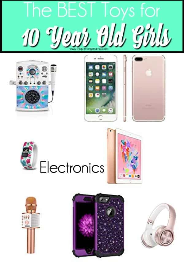 The Best electronics for 10 year old girls.