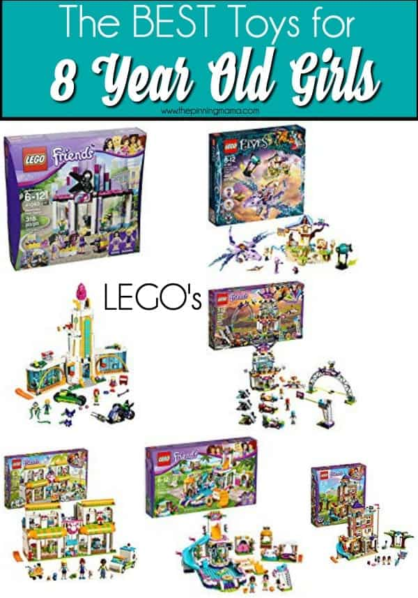 The BEST LEGO sets for 8 year old girls.