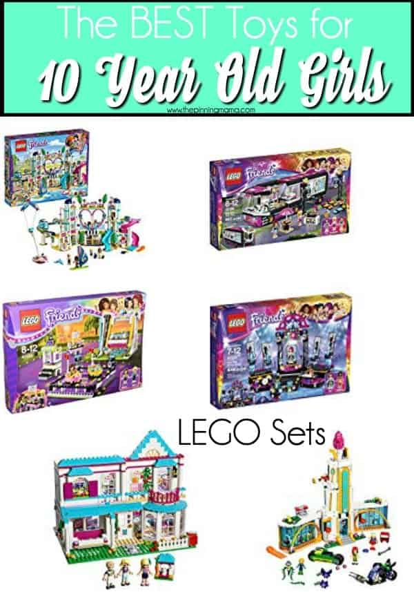The BEST LEGO sets for 10 year old girls.