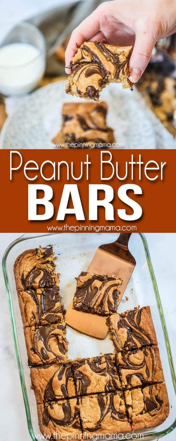 Delicious, Easy, and Gooey Peanut Butter Bars