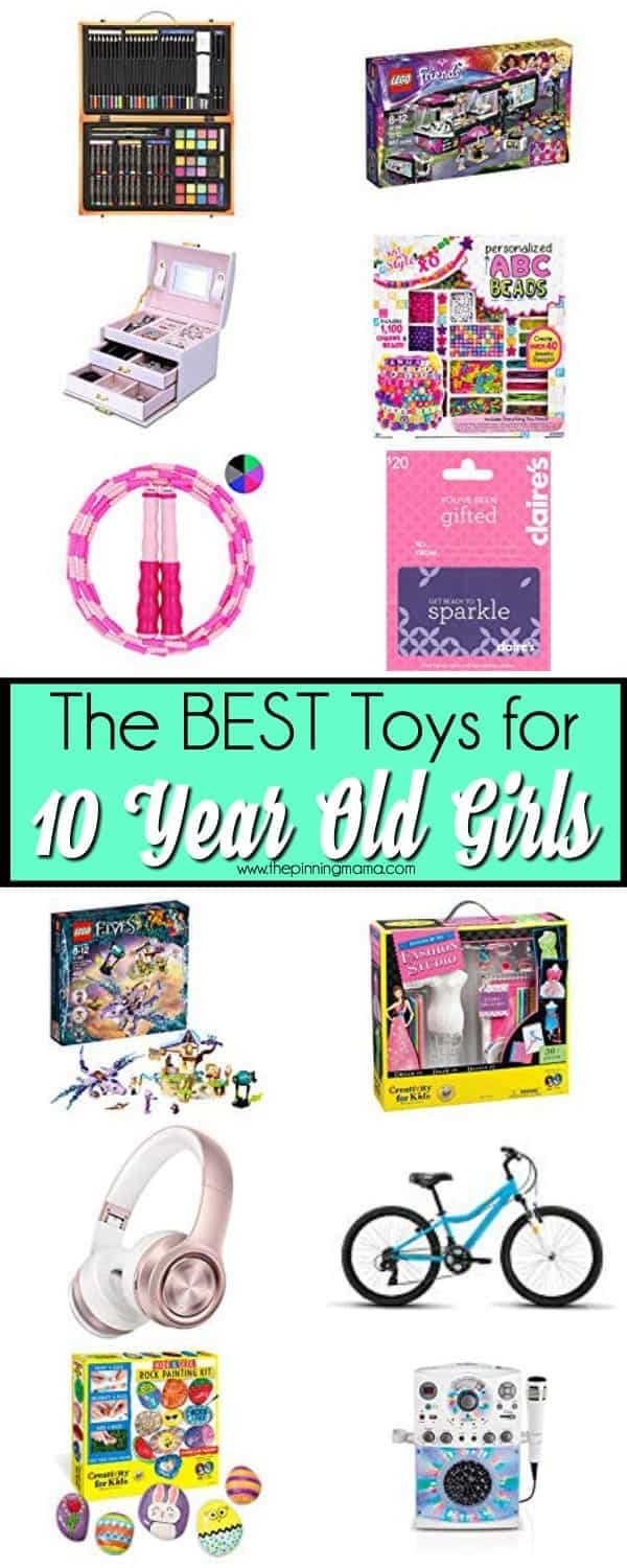 Toy Ideas for 10 year old Girls.