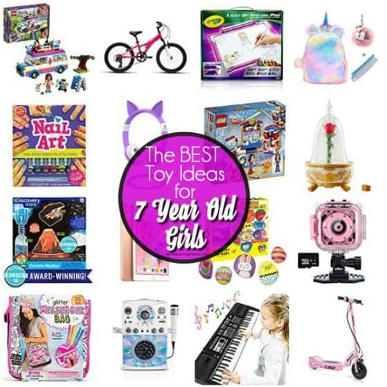 The BEST Toy Ideas for 7 year old girls.