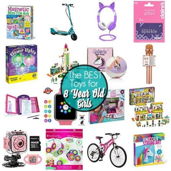 The BIG list of the BEST toys for 8 year old girls.